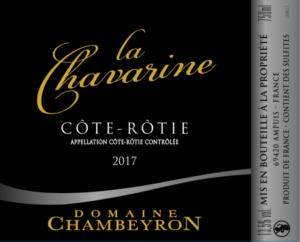 La Chavarine Côte-Rôtie Domaine Chambeyron Importation Privée